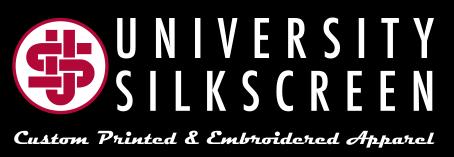 University Silkscreen Logo